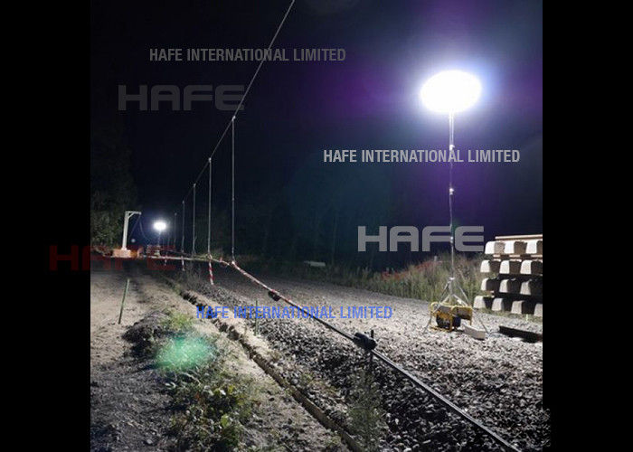 Safe Moon Balloon Light Fit Nighttime Highway Work Illumination Category I, II, III